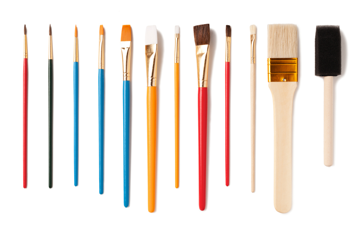 Pictures Of Art Paint Brushes