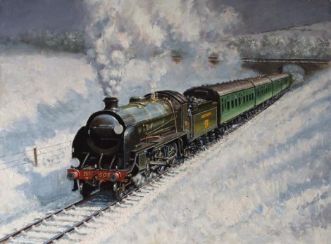 Southern Railway in Winter