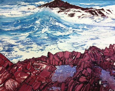 Seaspray red rocks no5