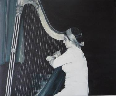 Unknown Harpist