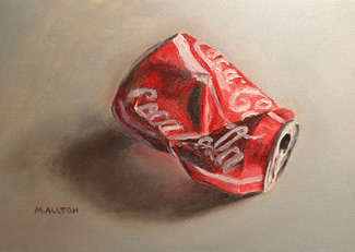 Crushed Coke Can