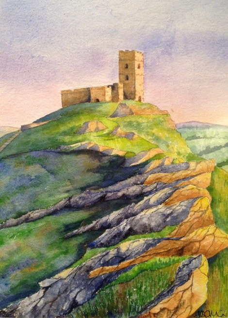 Brentor Sunset