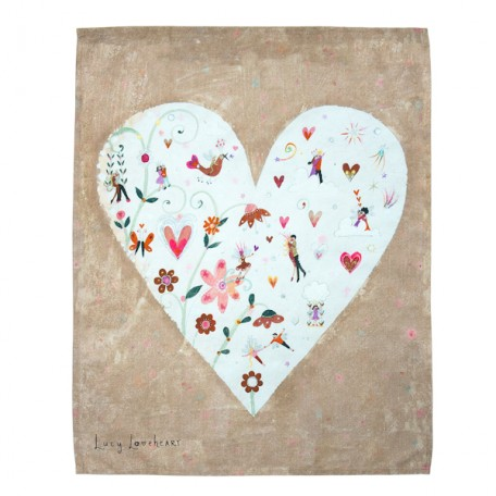 Love is in the Air Tea Towel