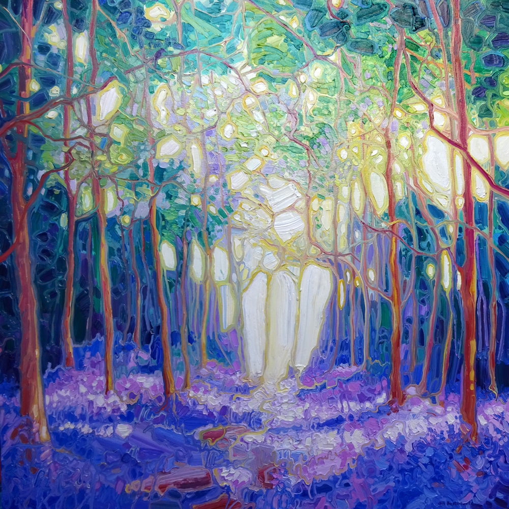 Escape Through The Bluebell Wood