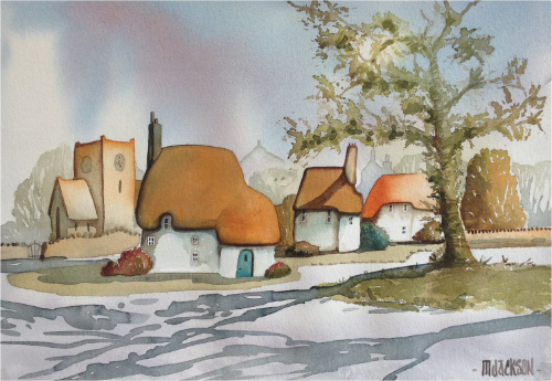 Cottages and Shadows