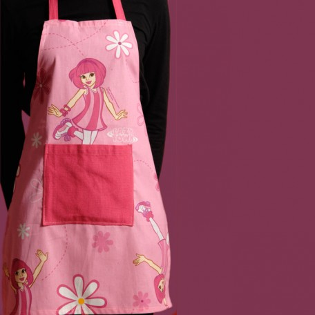 Lazy Town Childs Apron 7  14 years