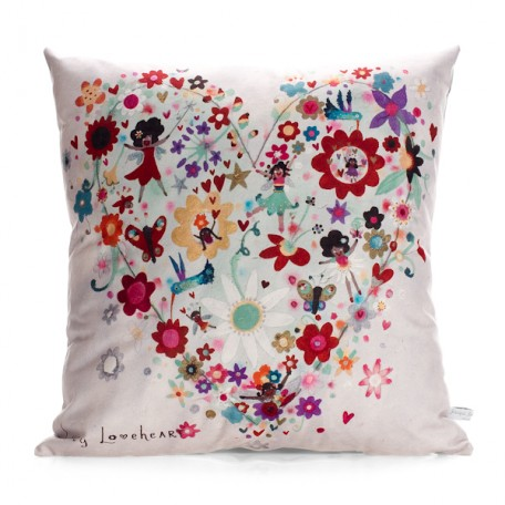 St Lucian Fairies Cushion