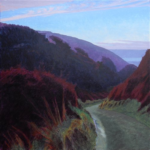 Valley road to the sea SOLD