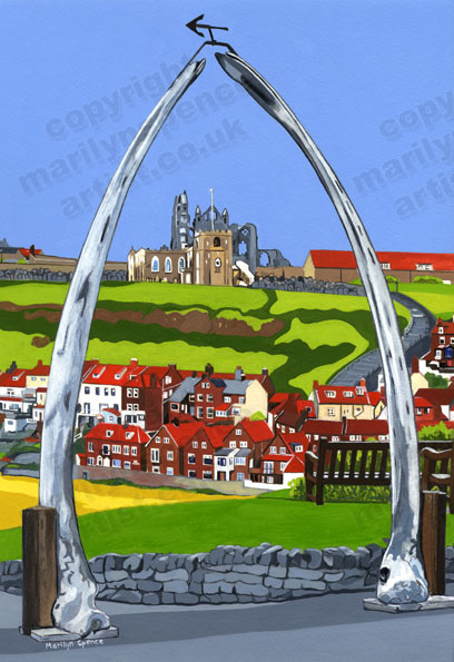 Archway With A Difference - original sold but prints and canvases available