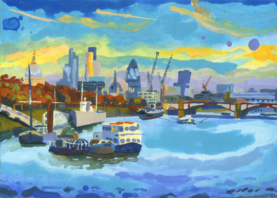 The Thames, Late Afternoon