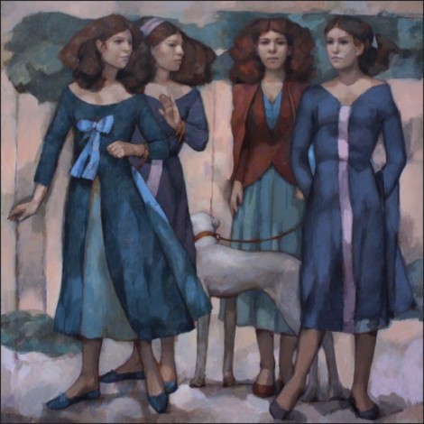 Four Women and a Greyhound