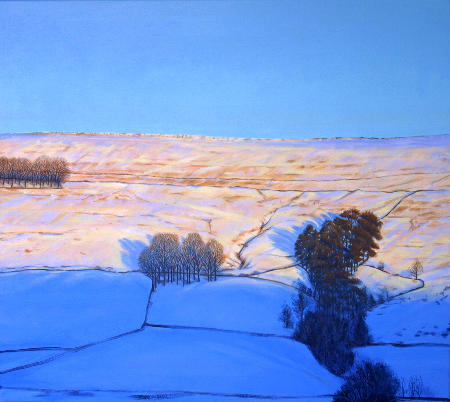 'Evening Thaw' - acrylic on canvas