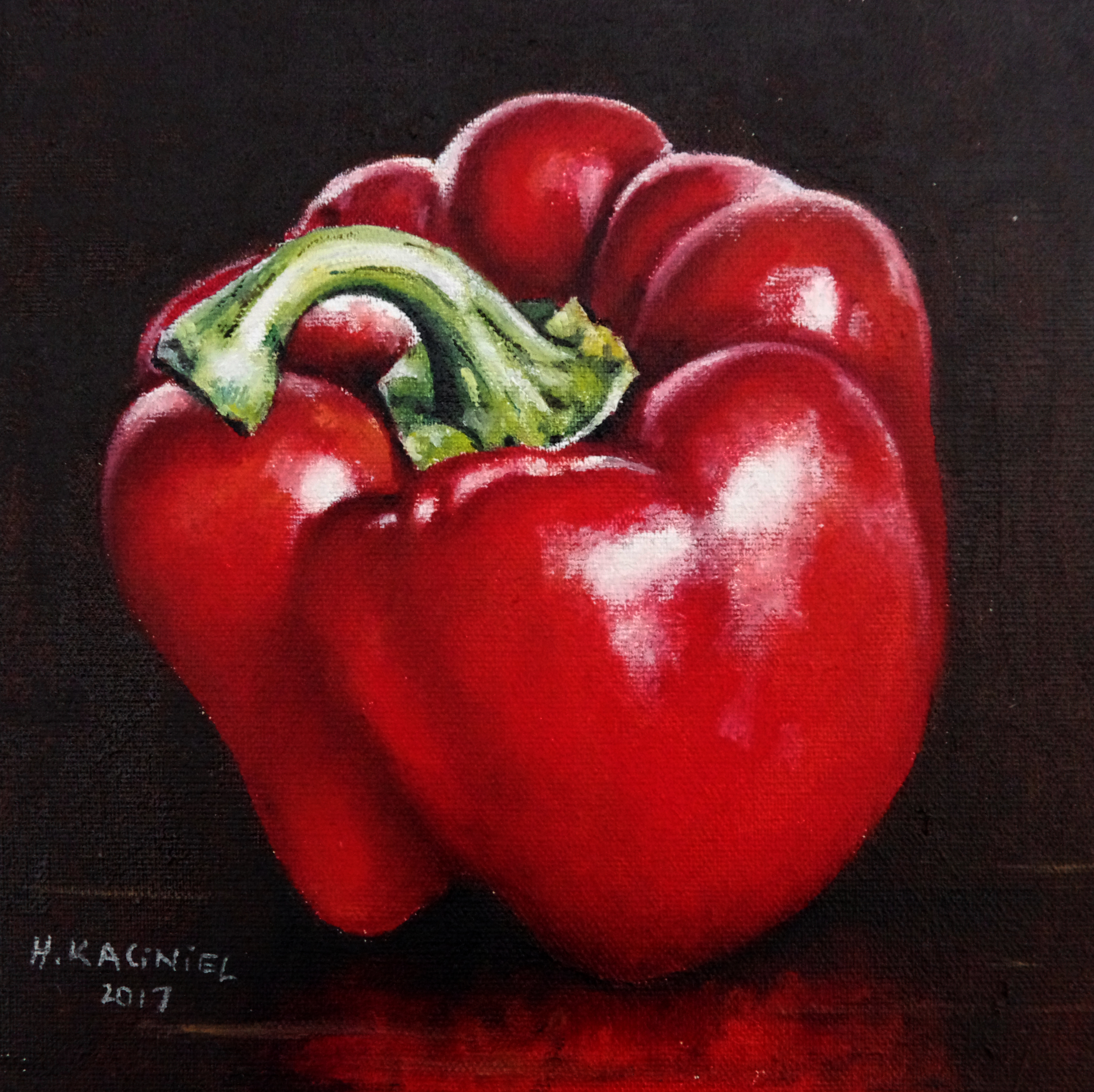 Small red pepper