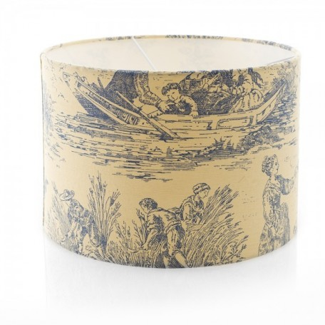 Toile Romance Lampshade
