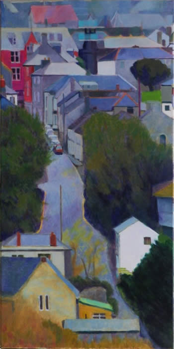 Lane into town, St columb SOLD