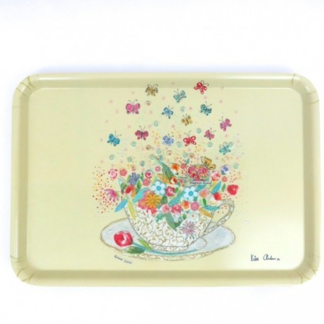 Joyous Teacup Large Serving Tray