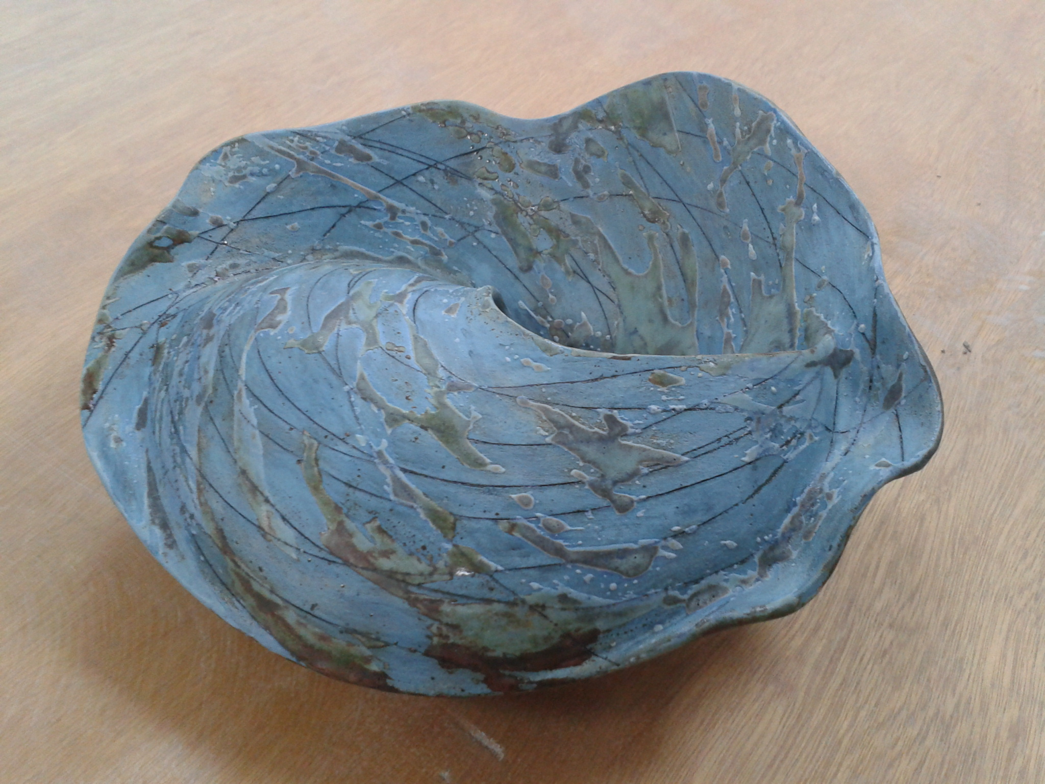 Can you hear the Sea? Blue Shell (back view)