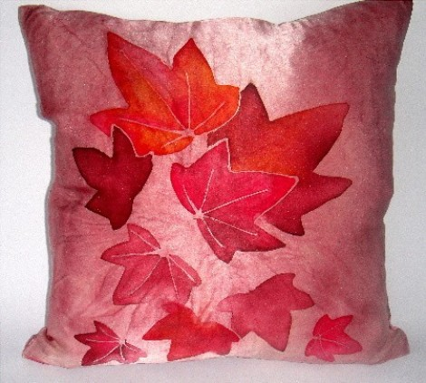 Comfy cushion, Autumn Leaves