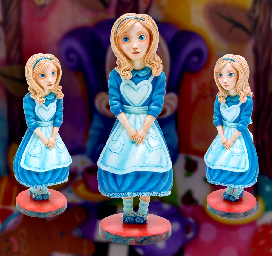 Alice Sculpture