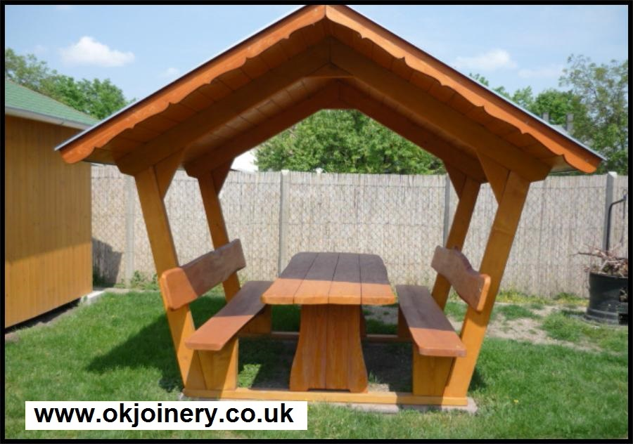 Ok Joinery Ltd bespoke garden furniture