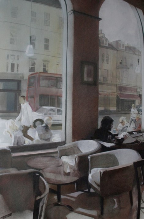 hove cafe 3 70 x 100 cm