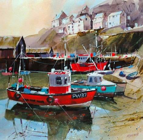 Harbour Mevagissey Cornwall