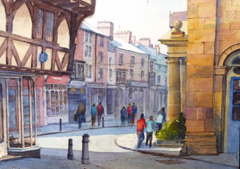 At the Buttercross