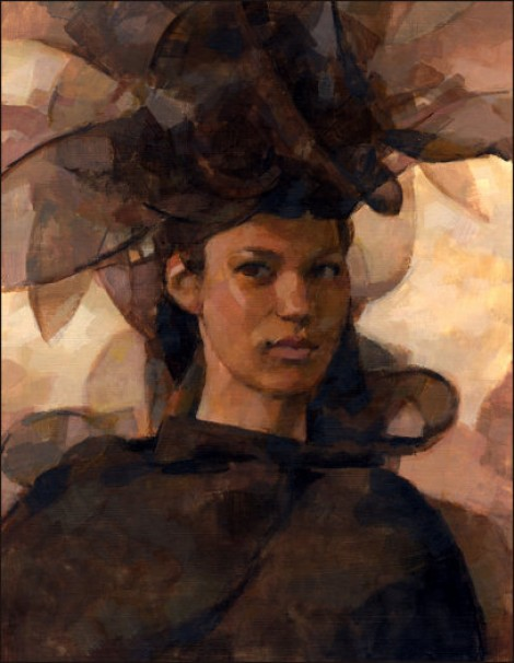 Woman in a Black Hat
