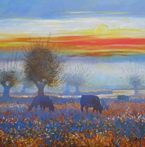 Water Meadow at Dawn