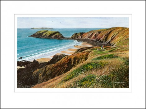 Marloes Sands and Gateholm