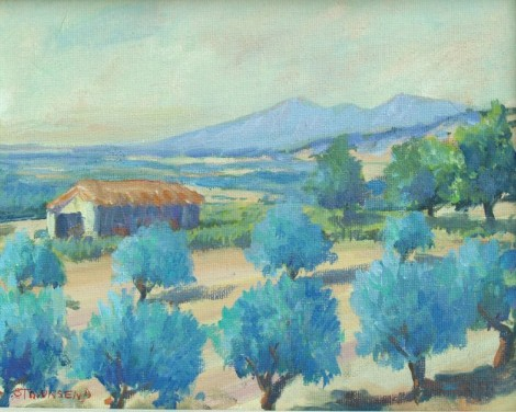 Provence Olive groves