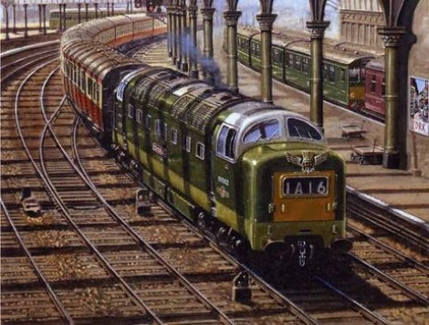 Deltic at York