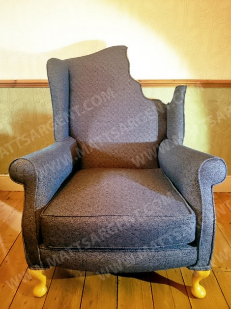 The Bite Wing Back Chair