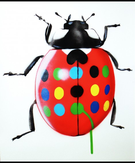 Get the Hirstbug On Paper