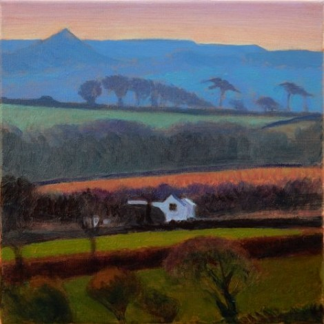 Towards the clay country Mid Cornwall SOLD