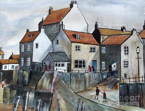 Staithes Fishing Village