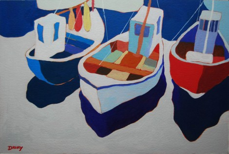 Harbour boats  4