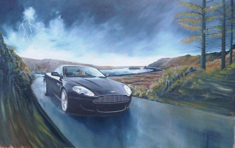 Ignite your soul Aston Martin DB9