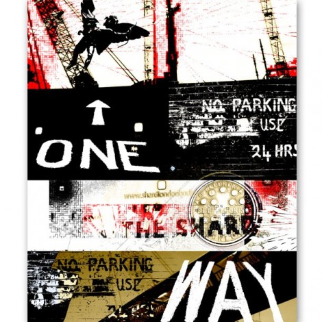 One Way Mural by ATADesigns and Adrienne Chinn