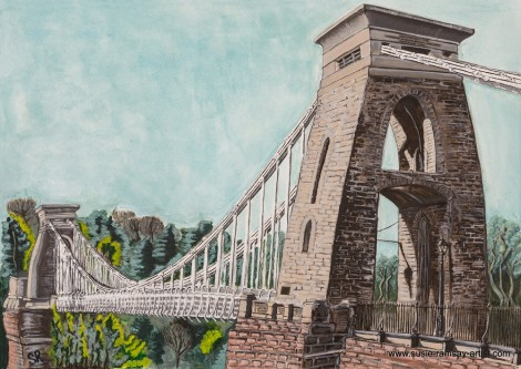 Clifton Suspension Bridge - Spring