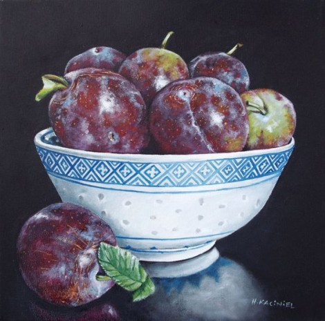 A Bowl of Plums
