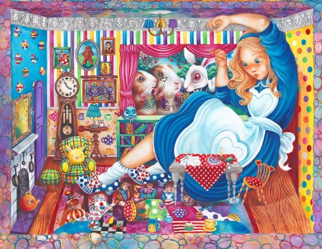 Alice In William Rabbits House