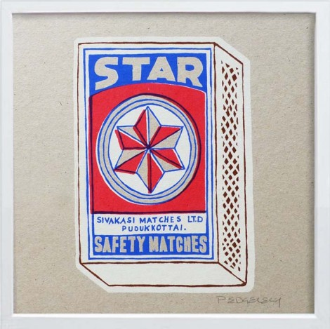 Star Match box